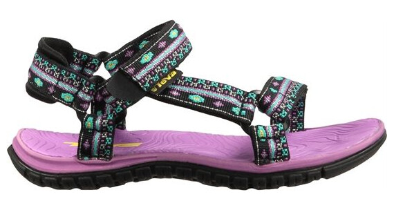 Teva Kids Hurricane 3 Hippie Black/Purple